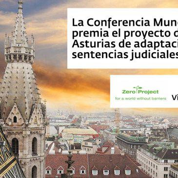 Reconocimiento mundial al proyecto de adaptación de sentencias a lectura fácil
