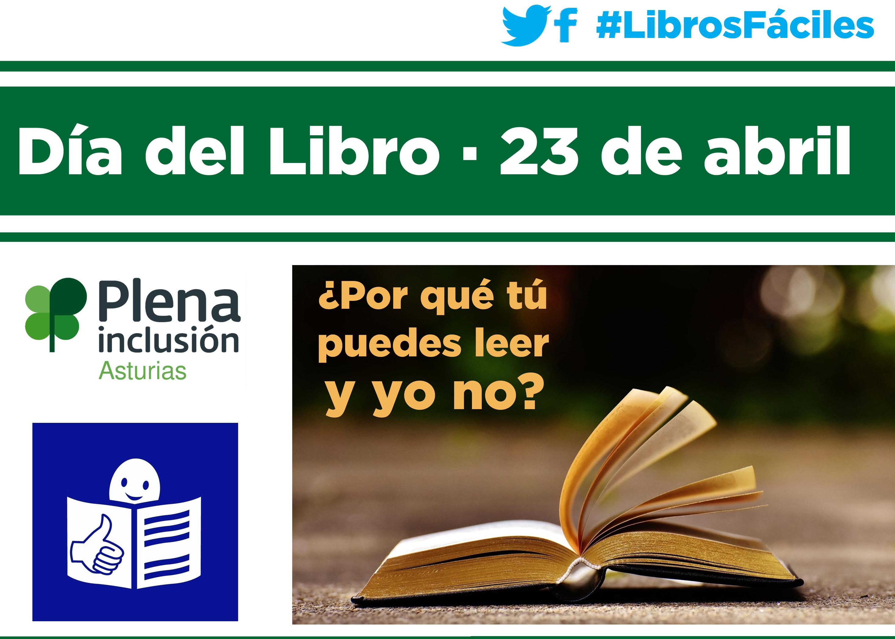 En el Día del Libro, personas con discapacidad intelectual reivindican su derecho a la lectura en igualdad de condiciones