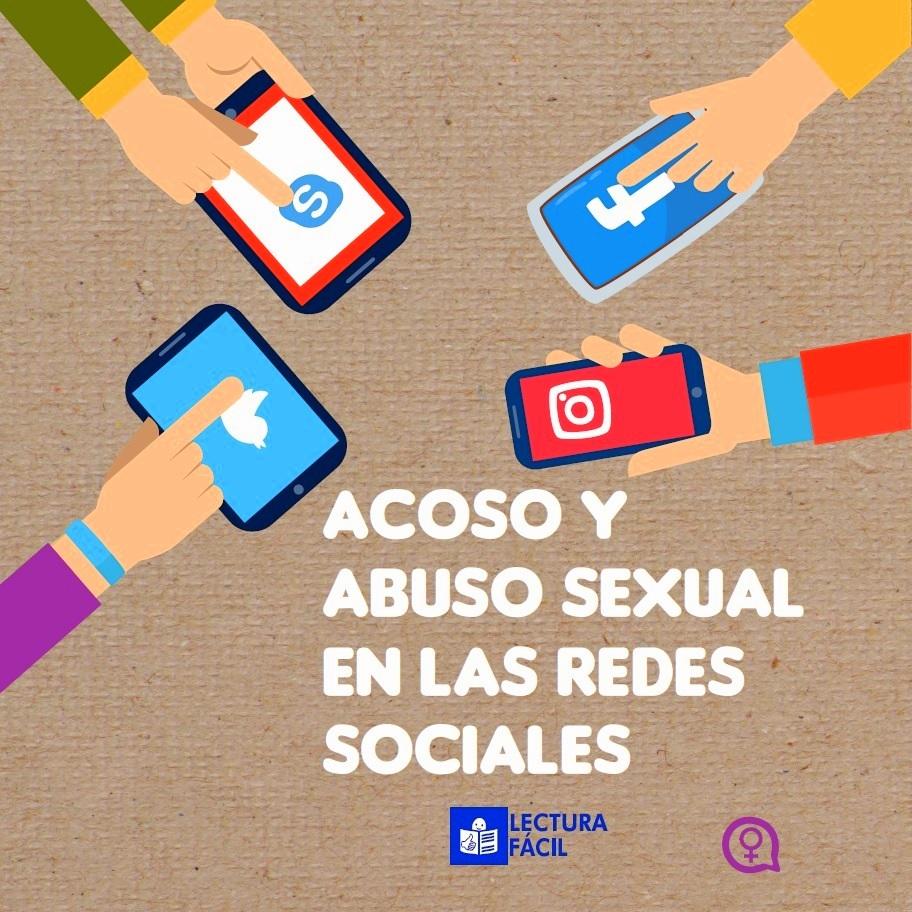 Guía sobre Acoso y Abuso Sexual en las Redes Sociales en lectura fácil