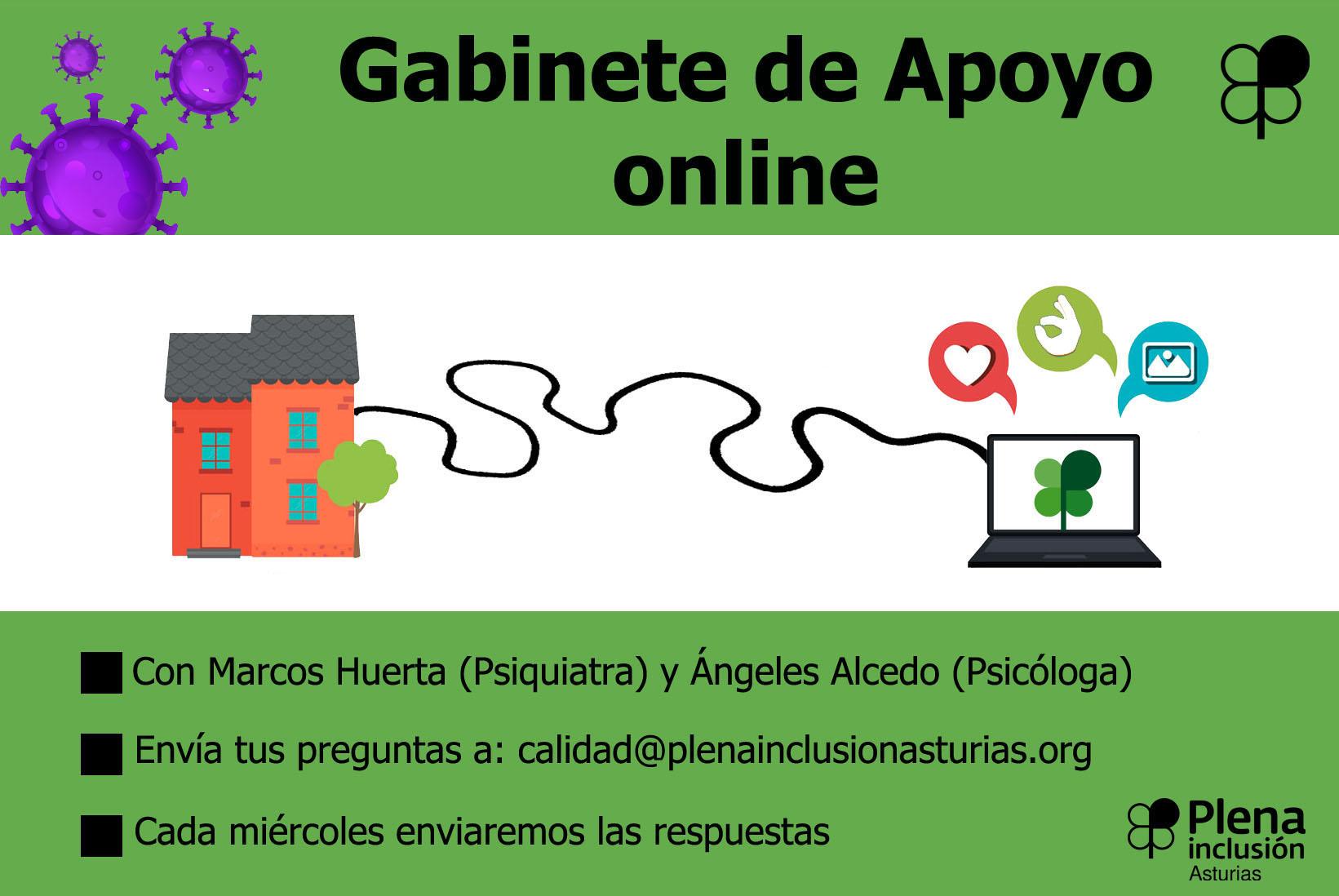 Gabinete de apoyo online