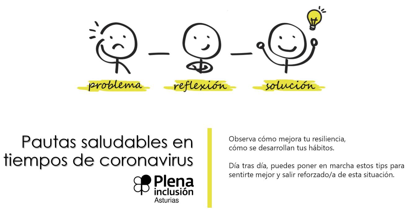 Pautas saludables en tiempo de Coronavirus